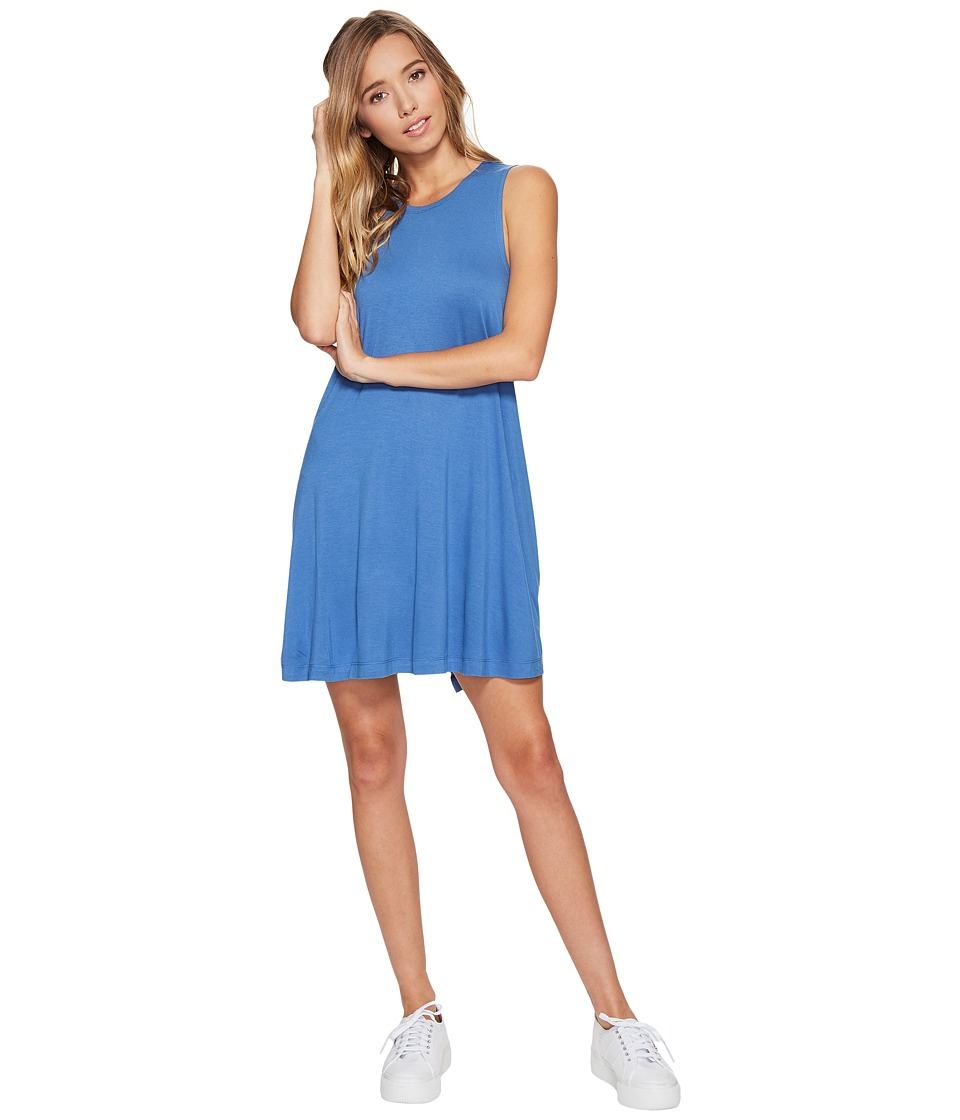 RVCA Sucker Punch 2 Dress (Baja Blue) Women