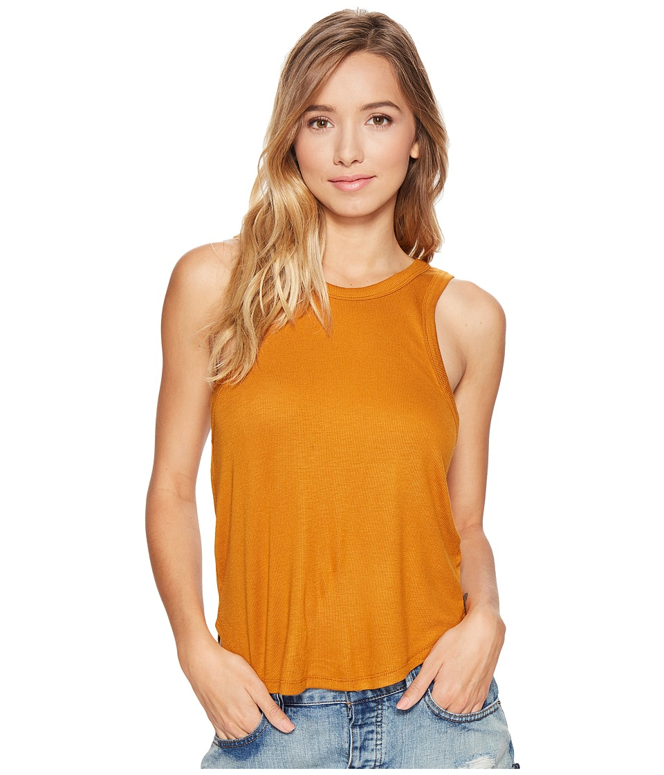 RVCA - Beacons Tank (Pumpkin Spice) Women's Sleeveless