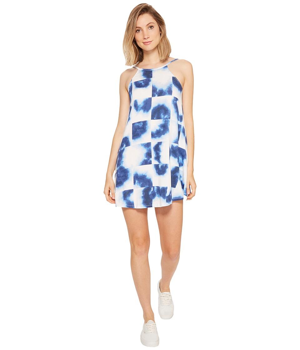RVCA Pipe Dream Swing Tank Dress (Baja Blue) Women