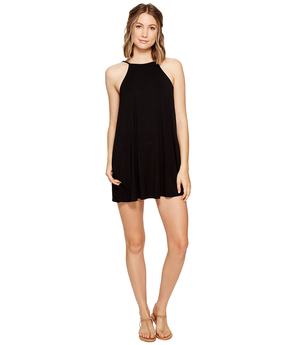 RVCA - Pipe Dream Swing Tank Dress (Black) Women's Dress