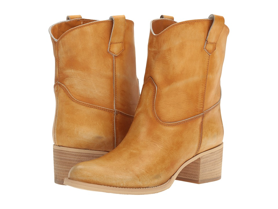 Massimo Matteo - Low Cowboy Boot (Ocra) Women's Boots