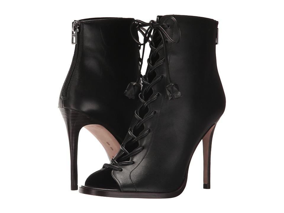 COACH - Lena (Black) Women's Dress Lace-up Boots