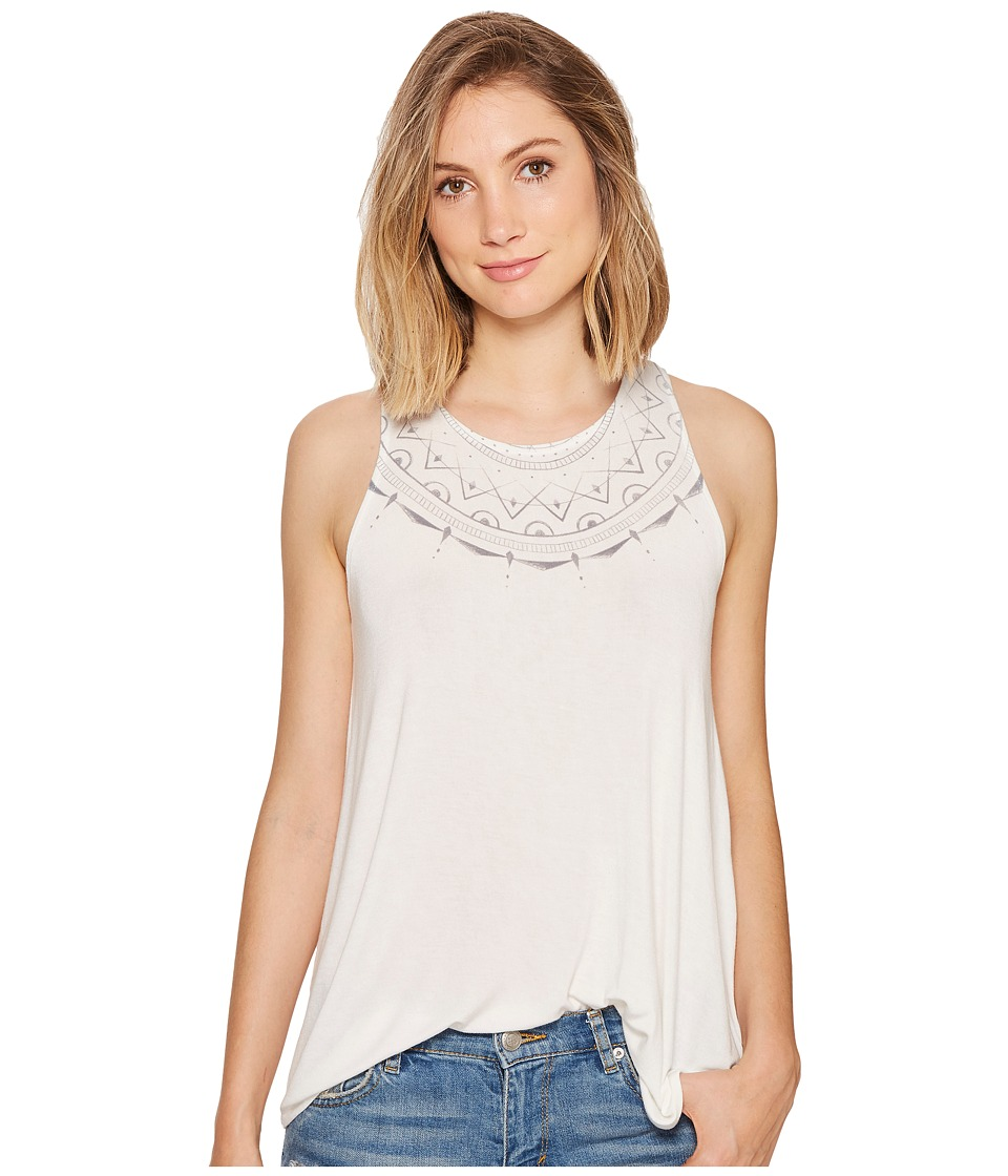 RVCA - Spacial Tunic Tank Top (Vintage White) Women's Sleeveless