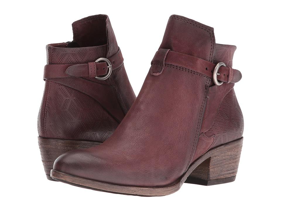 Miz Mooz - Davis (Wine) Women's Boots