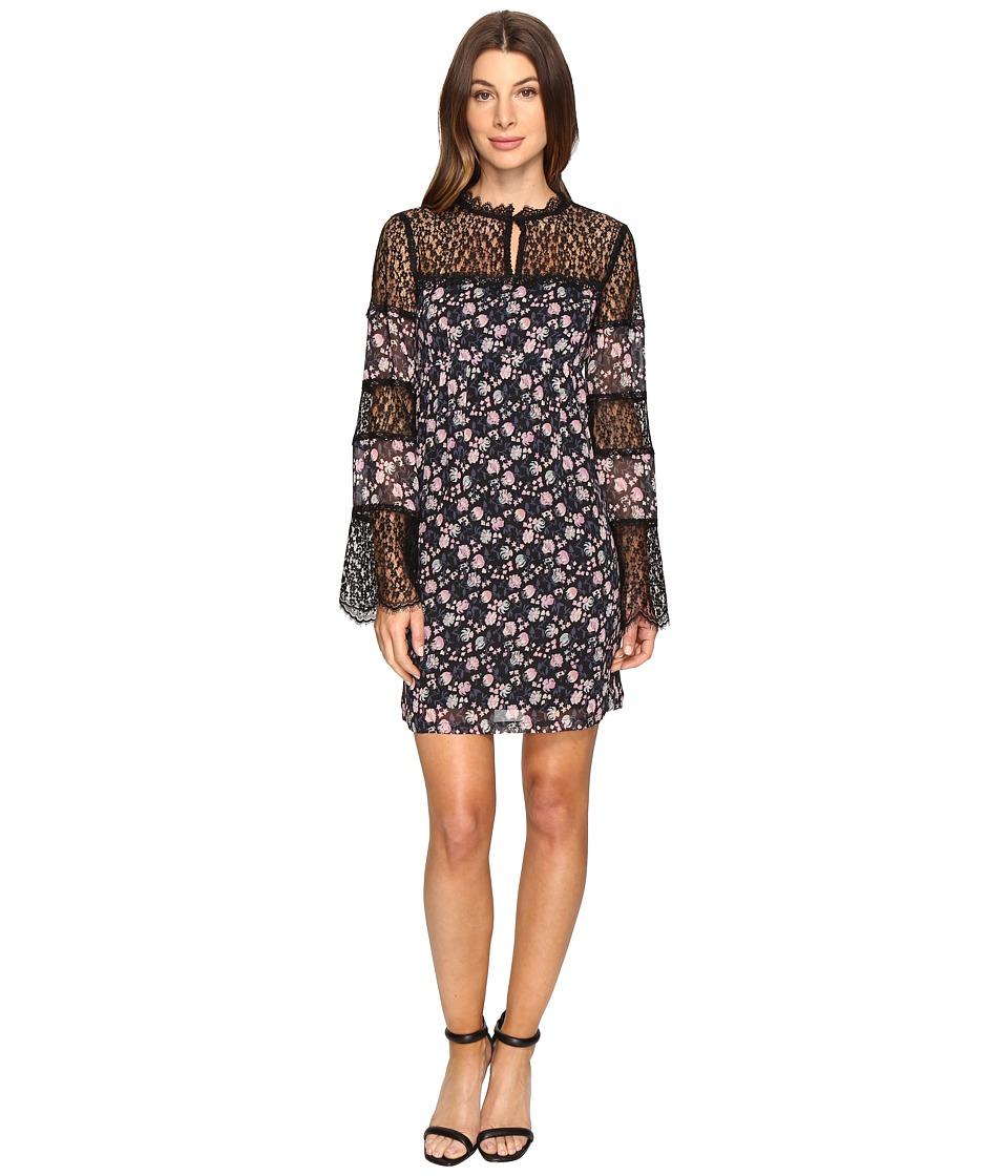 Nanette Lepore - Flora Frock (Black) Women's Dress