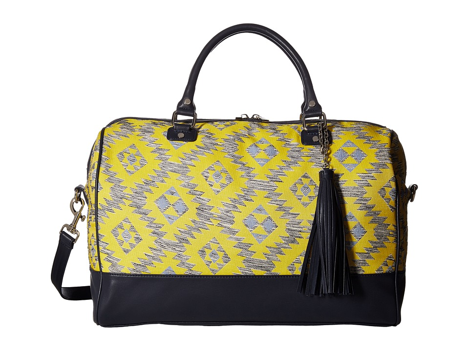 Deux Lux - Rio Weekender (Yellow) Weekender/Overnight Luggage