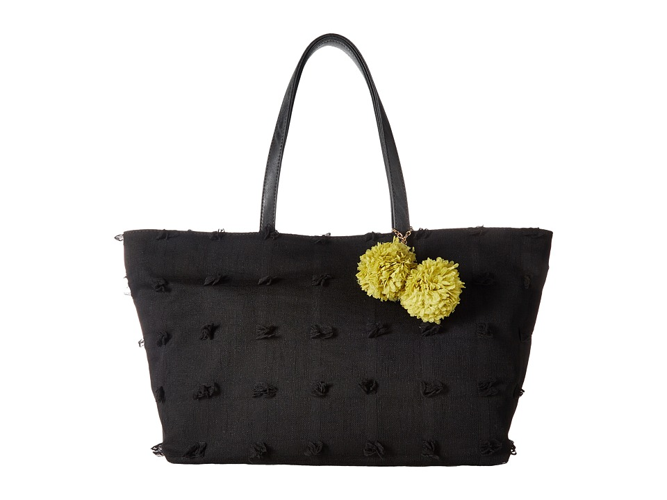Deux Lux - Bloom Tote (Black) Tote Handbags