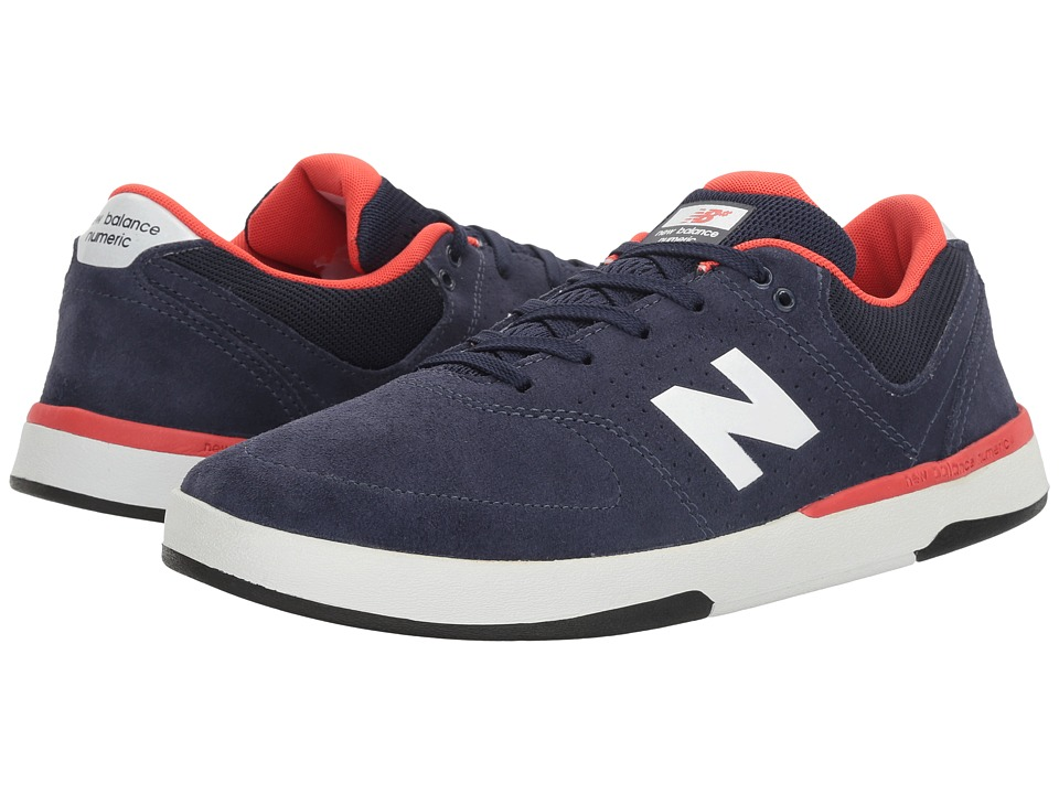 New Balance Numeric - NM533 (Boston Navy/Team Red) Men's Skate Shoes