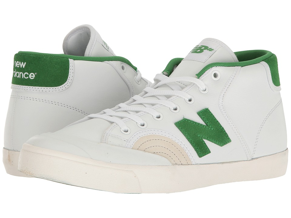 New Balance Numeric - NM213 (White/Garden Green) Men's Skate Shoes