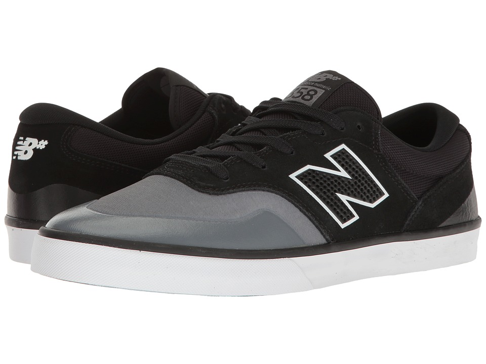 New Balance Numeric - NM358 (Gunmetal/Black) Men's Skate Shoes