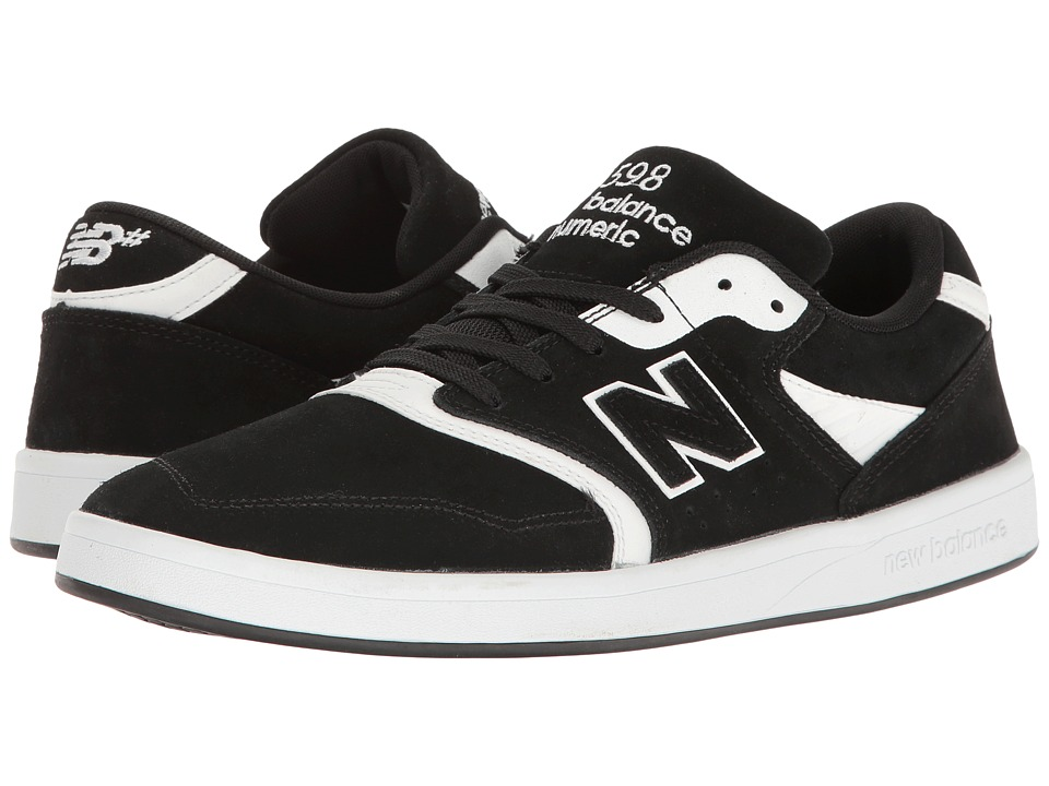 New Balance Numeric - NM598 (Black/White) Men's Skate Shoes