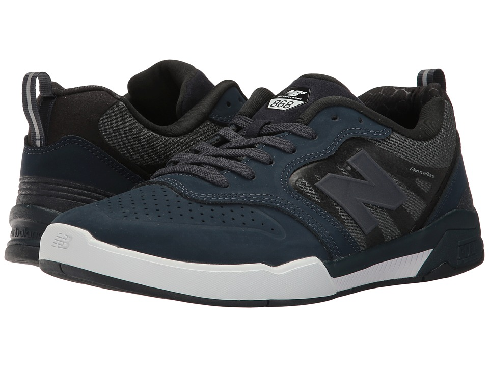 New Balance Numeric - NM868 (Obsidian/White) Men's Skate Shoes