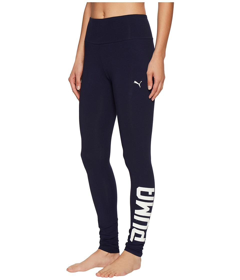 PUMA - Style Swagger Leggings (Peacoat) Women's Workout