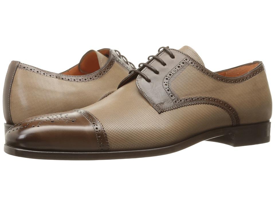 Mezlan - Moseley (Dark Brown/Taupe) Men's Shoes