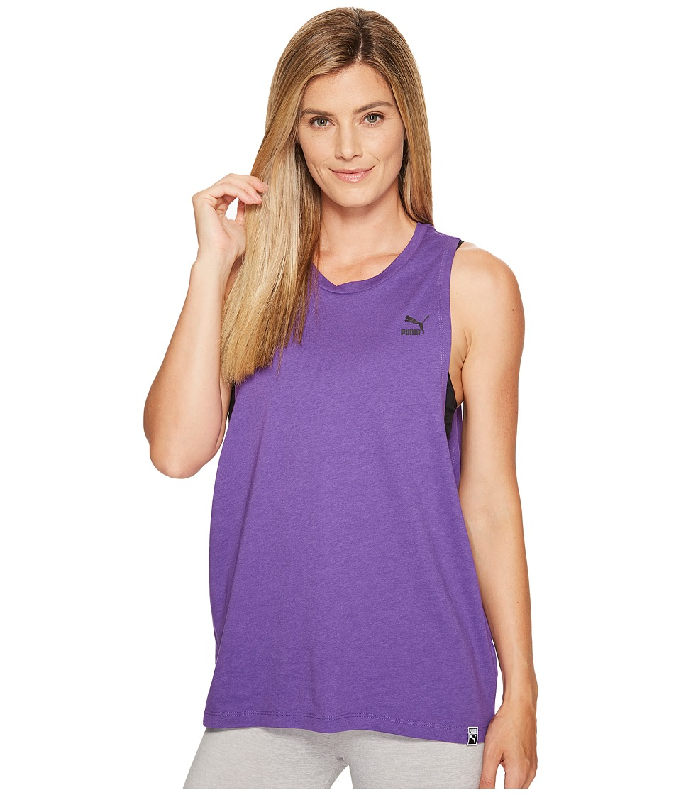 PUMA Archive Logo Tank Top (Royal Purple) Women
