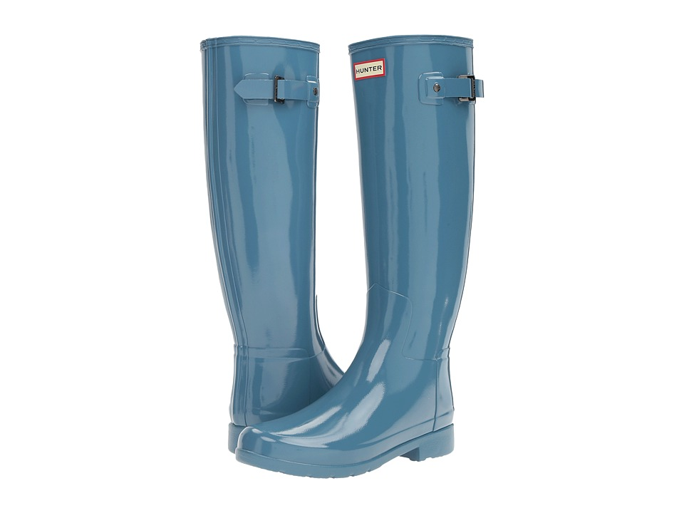 Hunter - Original Refined Gloss (Pale Air Force) Women's Rain Boots