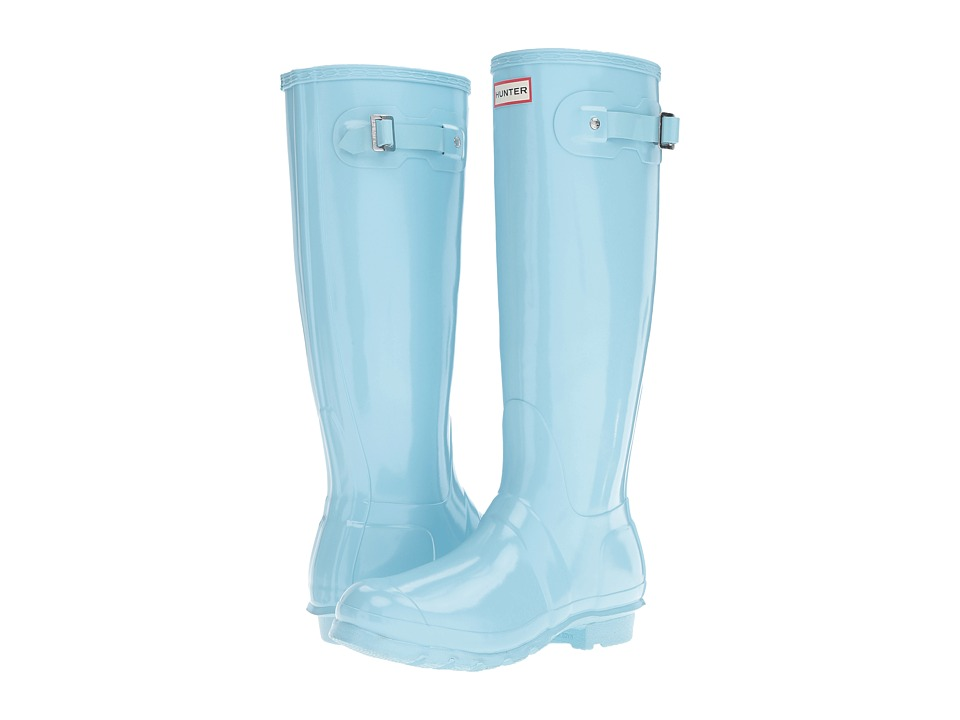 Hunter Original Tall Gloss (Pale Mint) Women
