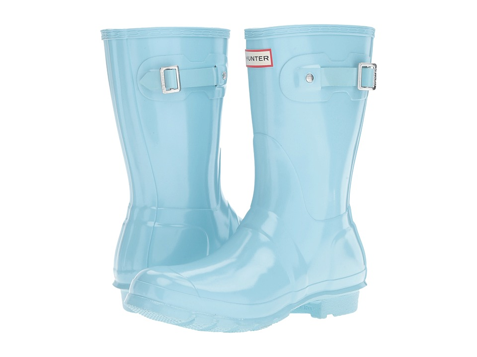 Hunter - Original Short Gloss (Pale Mint) Women's Rain Boots