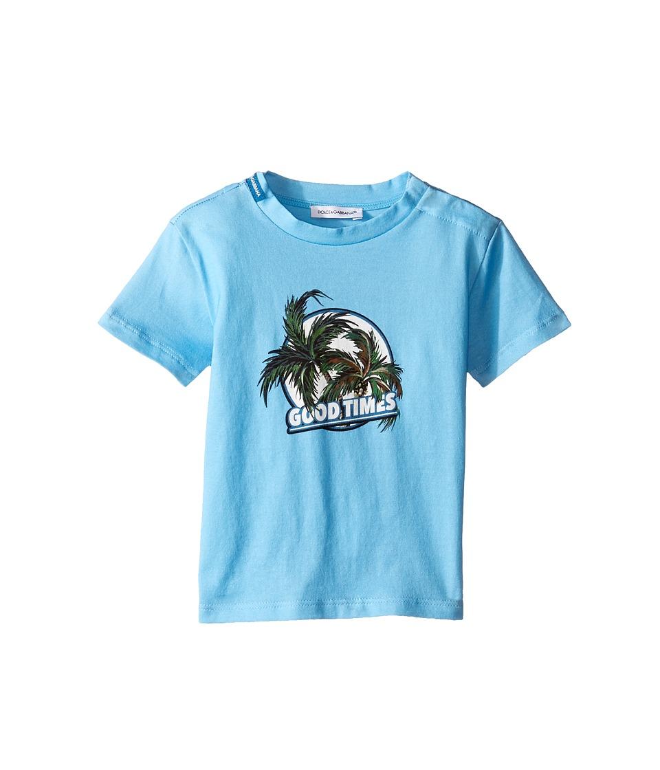 Dolce & Gabbana Kids - Mare Good Times T-Shirt (Infant) (Blue) Boy's T Shirt