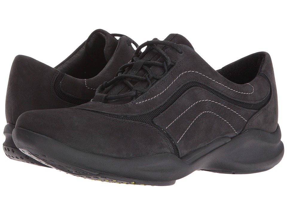Clarks - Wave Skip (Black Nubuck) Women's Shoes