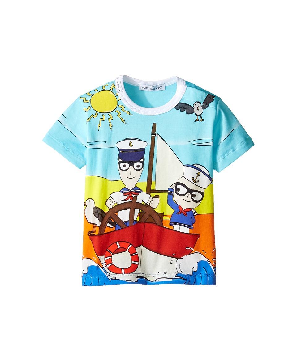 Dolce & Gabbana Kids - Mare Marine T-Shirt (Infant) (Multi) Boy's T Shirt