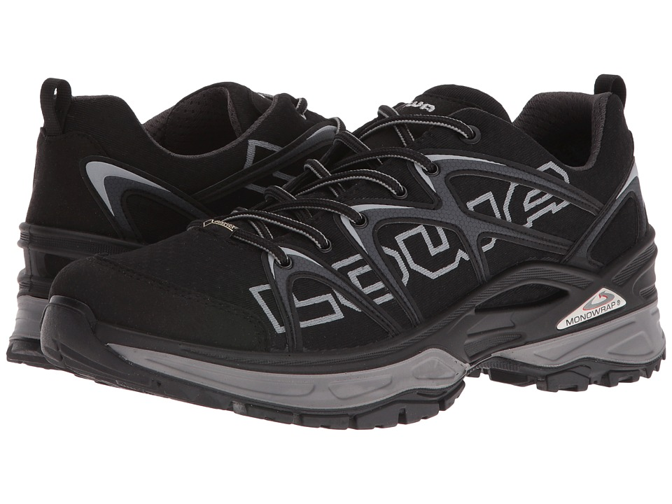 Lowa - Innox GTX LO (Black/Grey) Men's Shoes