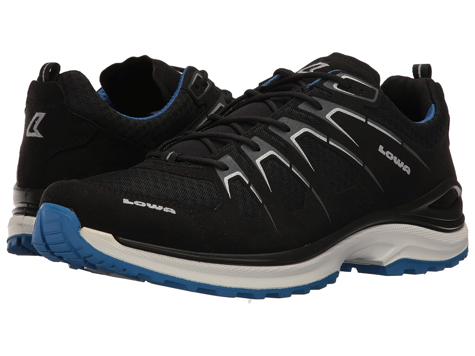 Lowa - Innox Evo (Black/Blue) Men's Shoes