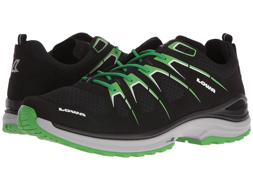 Lowa - Innox Evo (Black/Green) Men's Shoes