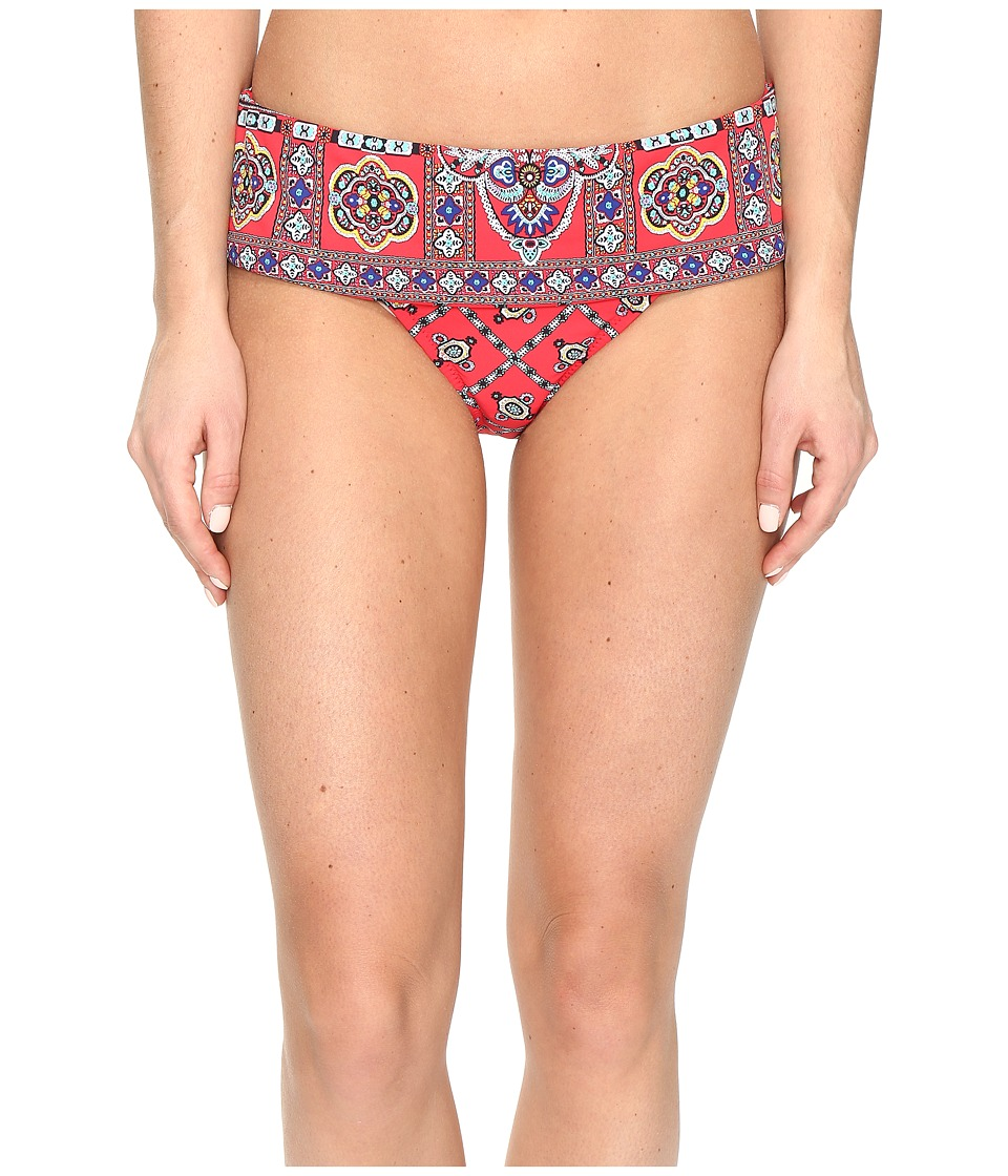 Nanette Lepore - Pretty Tough Dreamer Hipster (Ruby) Women's Swimwear