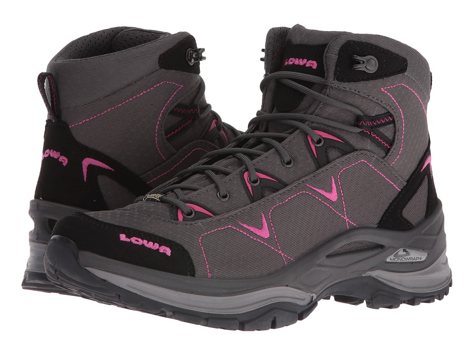 Lowa - Ferrox GTX Mid WS (Anthracite/Berry) Women's Shoes