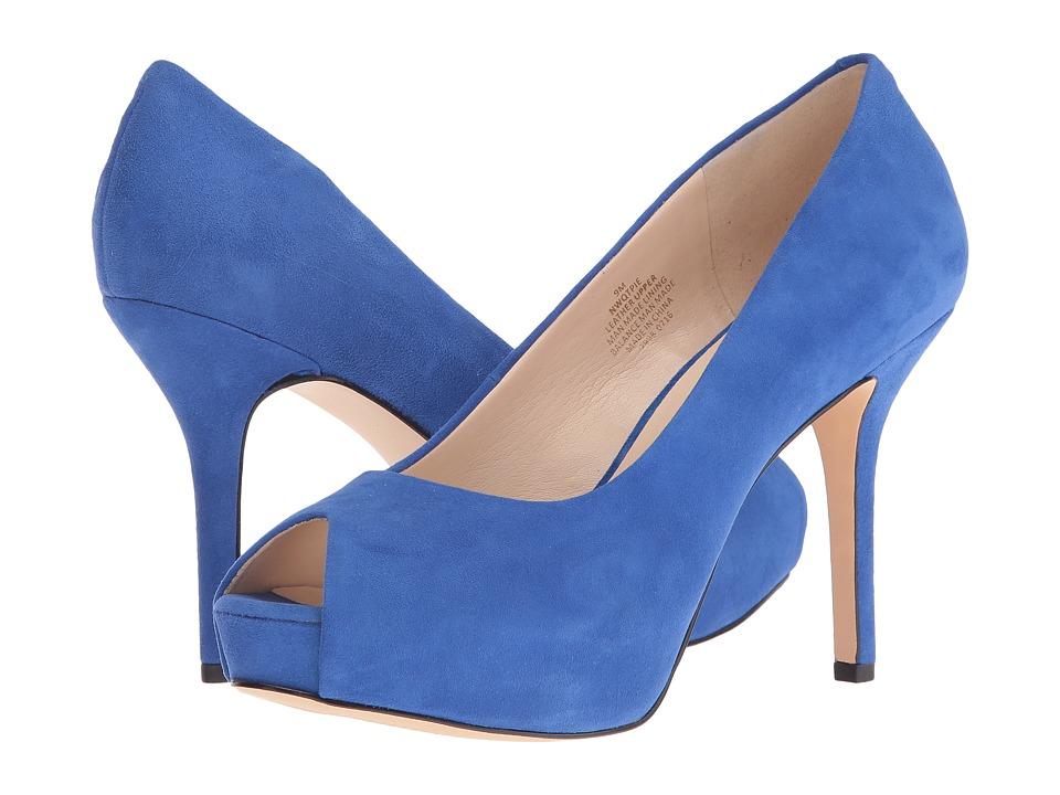 Nine West - Qtpie (Blue Suede) Women's Shoes
