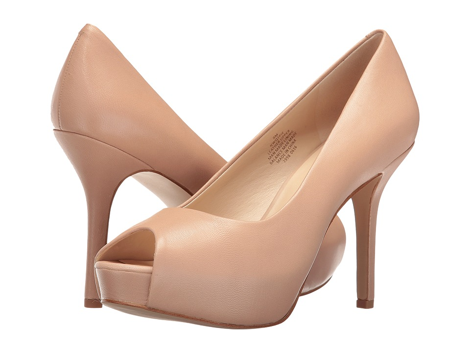 Nine West - Qtpie (Natural Leather) Women's Shoes