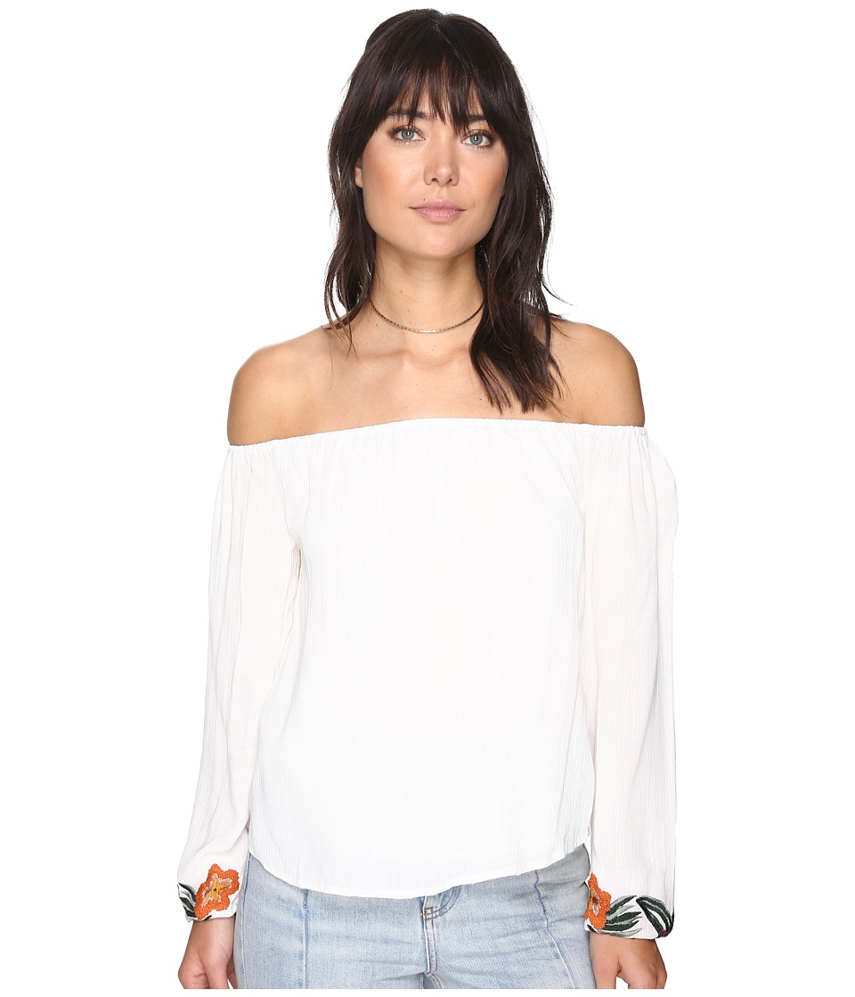Lovers + Friends - Over The Sea Top (Ivory) Women's Clothing