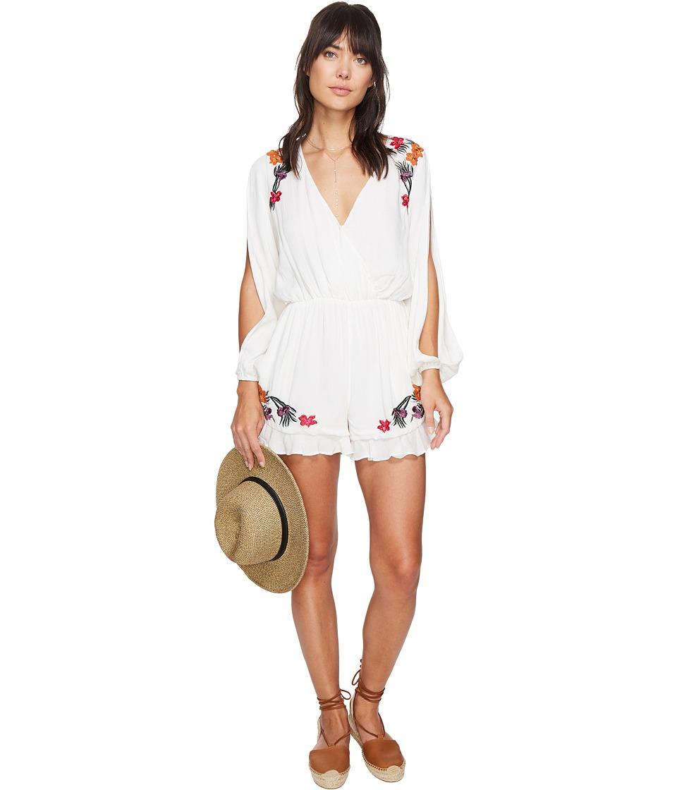 Lovers + Friends - Adriana Romper (Ivory) Women's Jumpsuit & Rompers One Piece