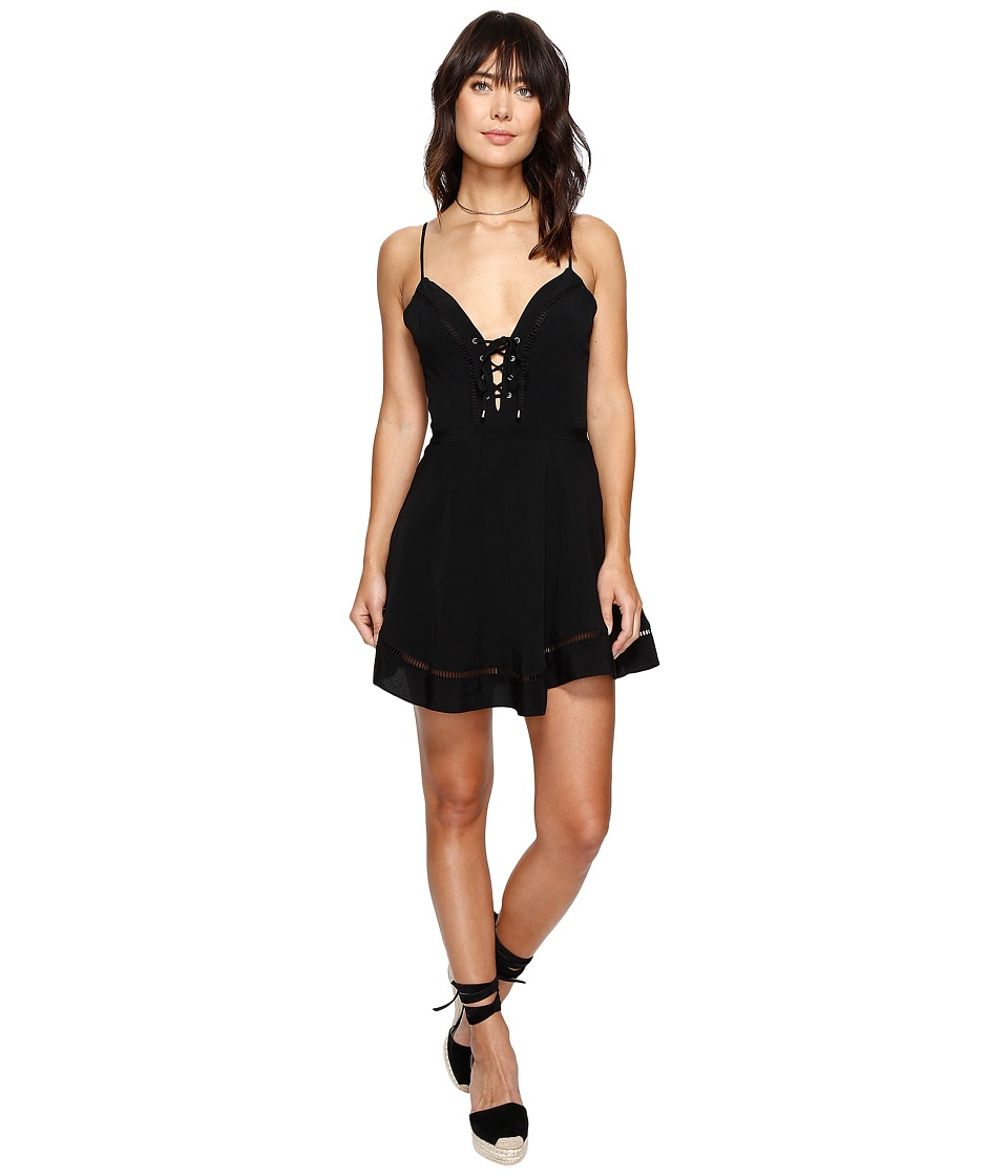 Lovers + Friends - Sadie Mini Dress (Black) Women's Dress