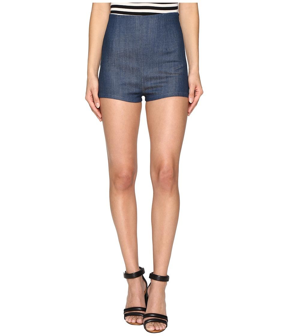 Clayton - Denim Pier Shorts (Marina Denim) Women's Shorts