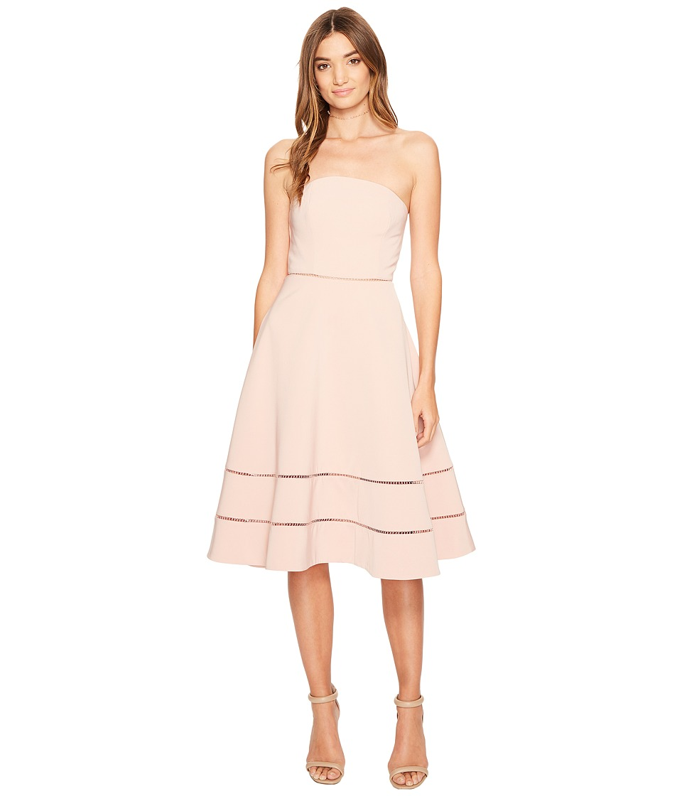 KEEPSAKE THE LABEL - Night Dance Midi Dress (Rose) Women's Dress