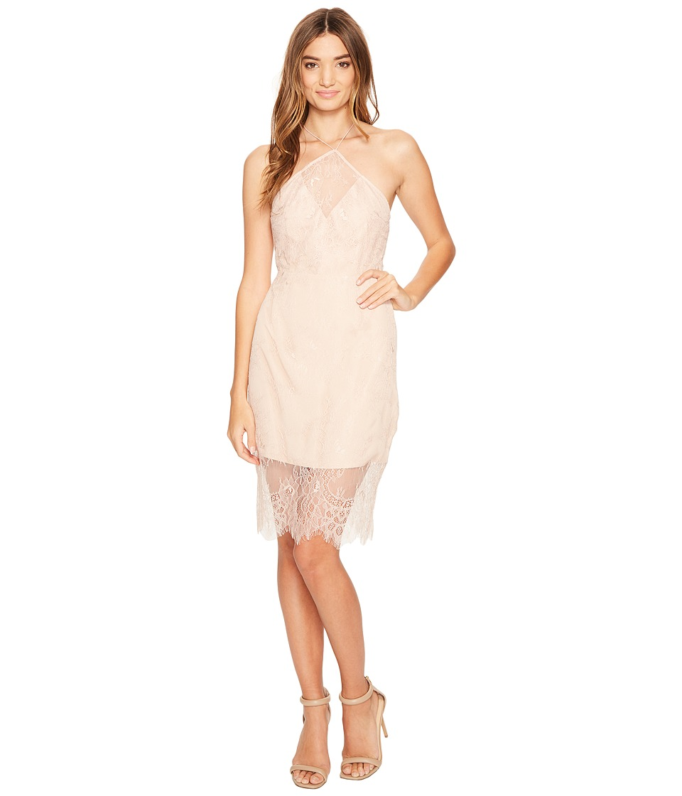 KEEPSAKE THE LABEL - Great Love Lace Dress (Rose) Women's Dress