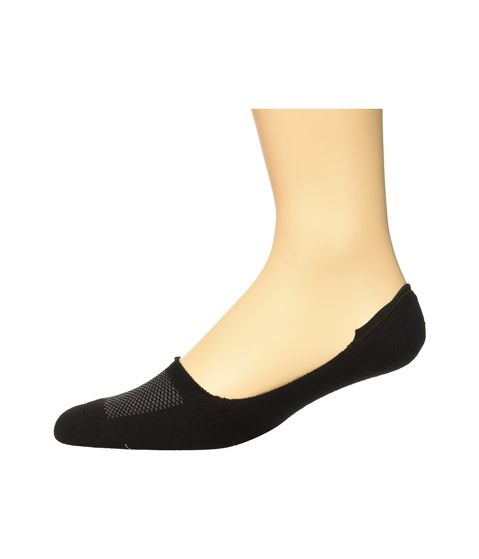 Sperry - Performance Liners (Black) Men's No Show Socks Shoes