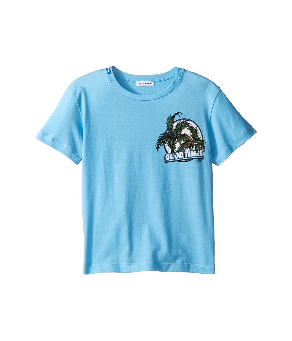 Dolce & Gabbana Kids - Mare Good Times T-Shirt (Toddler/Little Kids) (Blue) Boy's T Shirt