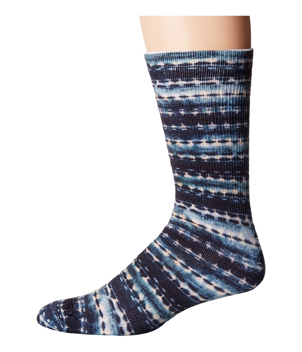 Sperry - Printed Performance Crews (Navy) Men's Crew Cut Socks Shoes