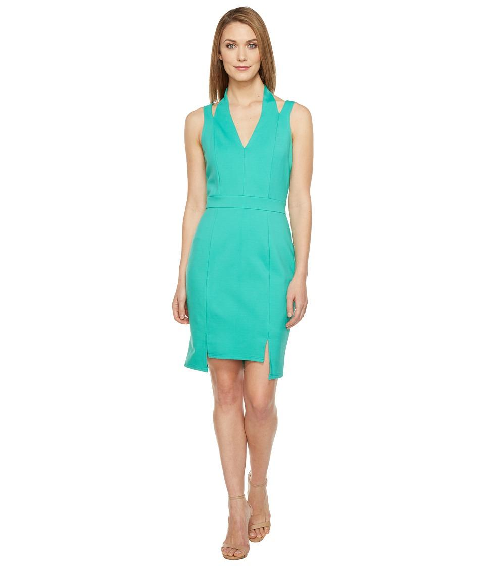 Adelyn Rae - Pauline Knit Ponte Bodycon (Seafoam) Women's Dress