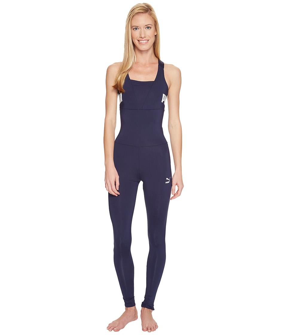PUMA - Archive Logo Jumpsuit (Peacoat) Women's Jumpsuit & Rompers One Piece