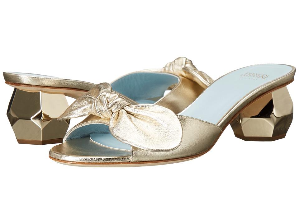 Frances Valentine - Dottie (Gold Nappa) Women's Shoes