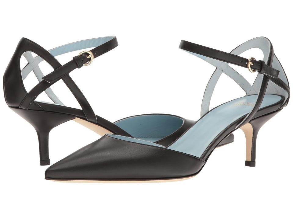 Frances Valentine - Alice (Black Leather) Women's Shoes