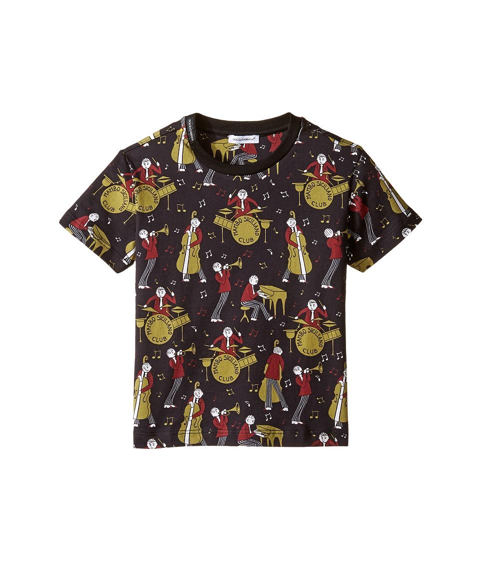 Dolce & Gabbana Kids - Mambo Band T-Shirt (Toddler/Little Kids) (Black) Boy's T Shirt