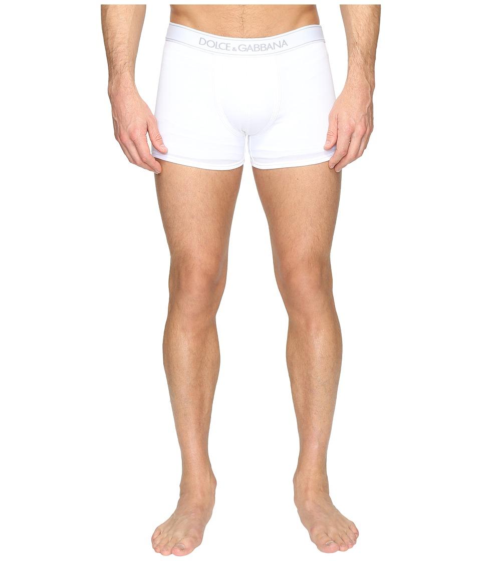 Dolce & Gabbana - Regular Boxer (White) Men's Underwear