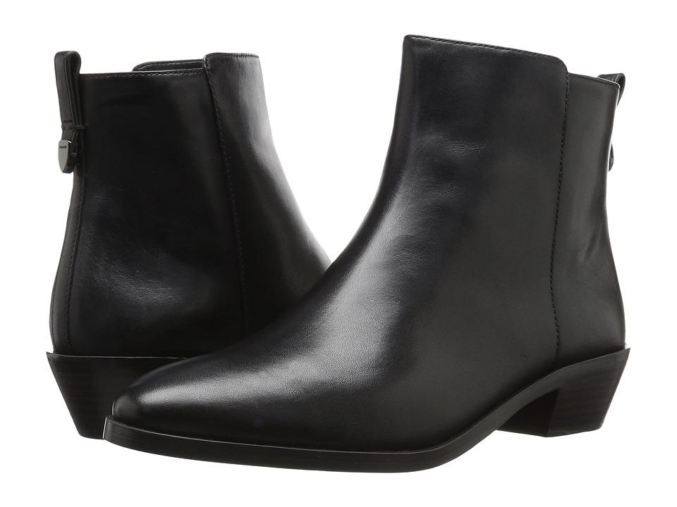 COACH - Carmen (Black Semi Matte Calf) Women's Shoes