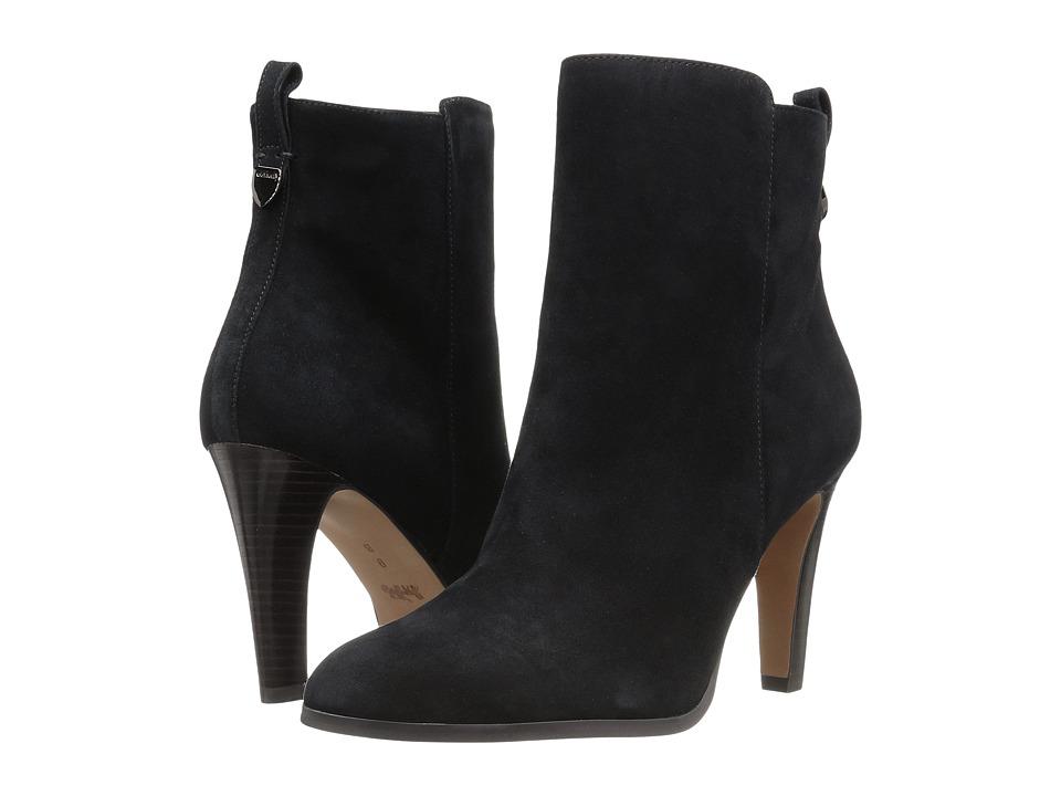 COACH - Jemma (Black Kid Suede) Women's Shoes