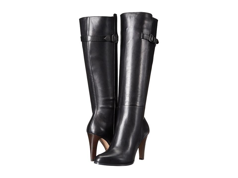 COACH - JO (Black Semi Matte Calf) Women's Shoes